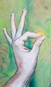 Mudras image from The World is Your Oracle